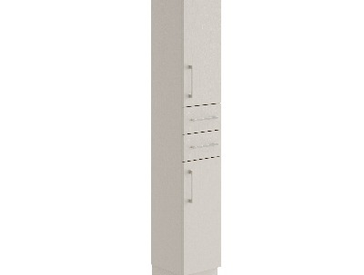 300mm Tall twin drawer door cabinet thumbnail